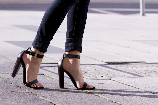 Celine Strappy Heels