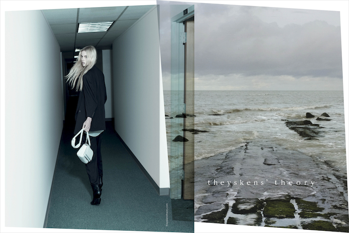 Theyskens' Theory SS13 ad 3